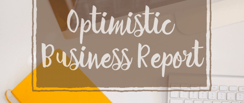 Business Report Shows Small Businesses Optimistic