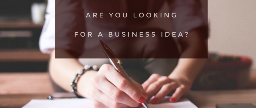 How to Find a New Business Idea