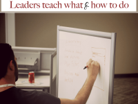 How Effective Leaders Teach and Not Just Tell (or Yell)