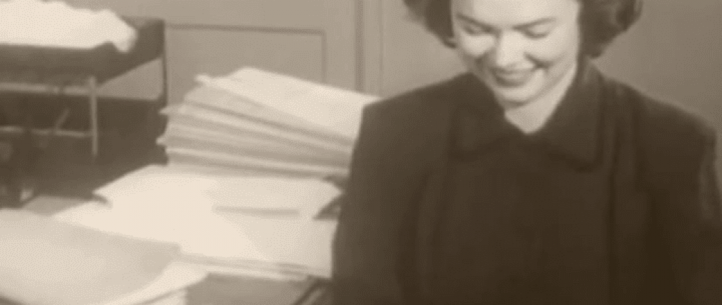 1950's Secretaries – What was their work world like?