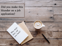 9 Mistakes to Avoid on Your Next Job Application