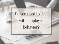 5 Things To Consider When Correcting Employee Behavior