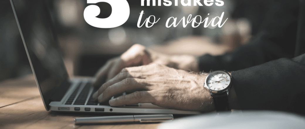 5 Mistakes to Avoid When Making a Sales Pitch