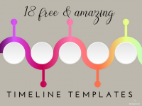 18 Amazing (and Free) Timeline Templates